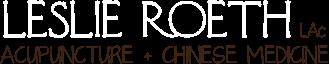 Leslie Roeth Acupuncture